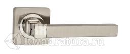 Дверная ручка TIXX Латунная Каттлея KB DH 221-05 SN/NP
