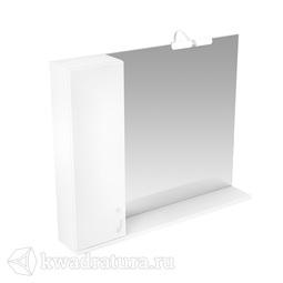 Зеркало Triton Джуно 100 см 1 светильник шкафчик СЛЕВА/СПРАВА