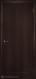 Дверь межкомнатная Дубрава Лилия ПГ венге