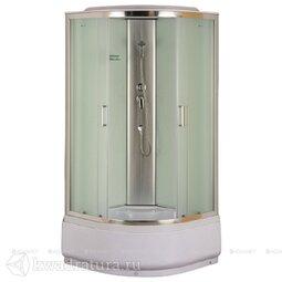 Душевая кабина Aquanet SC-900Q рифленое стекло 90*90 см