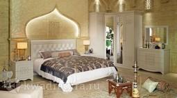 Двуспальная кровать «Саванна» без матраса ТР