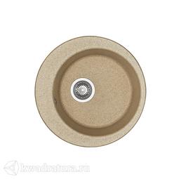 Кухонная мойка Aquaton Иверия (песочный) 1A711032IV220