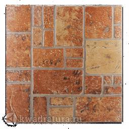 Керамогранит Евро-Керамика Таррагона красная 1 ТN0013 33*33 см