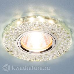 Встраиваемый точечный светильник Elektrostandard 2140 MR16 SL зеркальный/серебро LED