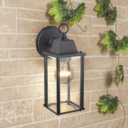 Настенный уличный светильник (Бра) Elektrostandard 1008D Brick черный