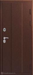 Дверь входная металлическая Эталон X-100 Медь - Медь