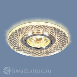 Встраиваемый точечный светильник Elektrostandard 8091 MR16 SL/CH зеркальный/хром LED
