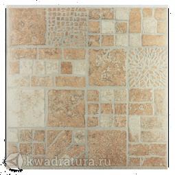 Керамогранит Евро-Керамика Сицилия коричневый FS0021 33*33 см