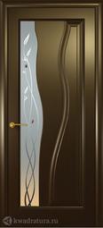 Межкомнатная дверь Океан Гольфстрим NEW венге c/о белое