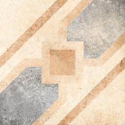 Декор для керамогранита Grasaro Tivoli Светло-бежевый GT-240/d04 40*40 см