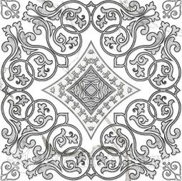 Декор-панно для керамогранита Grasaro Classic Marble GT-270/g/d04 40*40 см