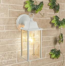 Настенный уличный светильник (Бра) Elektrostandard 1008D Brick белый