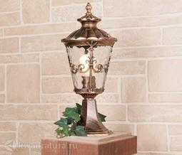 Ландшафтный светильник Elektrostandard Diadema S черное золото