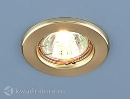 Встраиваемый точечный светильник Elektrostandard 9210 золото