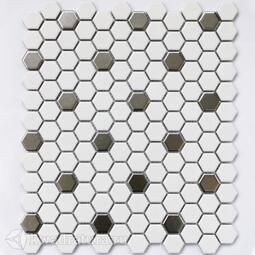 Мозаика Babylon Silver matt 30*26 см