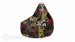 Кресло-мешок «Купер» XL Серый граффити, Люкс ТР