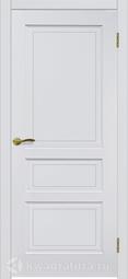 Межкомнатная дверь Матадор Либра ДГ эмаль белая матовая