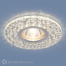 Встраиваемый точечный светильник Elektrostandard 2199 MR16 CL зеркальный/прозрачный LED