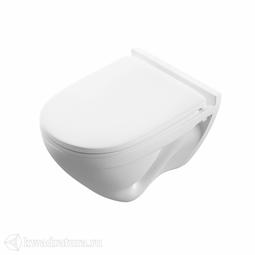 Унитаз подвесной Sanita Luxe ATTICA LUXE сиденье дюропласт, микролифт SL700003