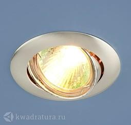 Встраиваемый точечный светильник Elektrostandard 104S хром