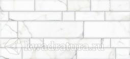 Настенная плитка InterCerama PLAZA светло-серая 50*23 см