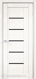 Межкомнатная дверь Velldoris (Веллдорис) NEXT 3 эмалит белый, лакобель черное