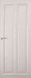 Межкомнатная дверь Океан Optima 5 Дуб белый жемчуг глухое