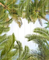 Потолочная панель ПВХ Unique Пальмы 2*2 м