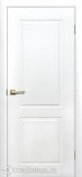 Дверь межкомнатная Сибирь Профиль Квартет ПГ белая