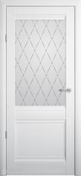 Межкомнатная дверь Фрегат (ALBERO) Рим Белый с/о Гранд