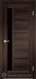 Межкомнатная дверь Velldoris (Веллдорис) PREMIER 3 Орех каштан Черный Лакобель