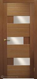 Межкомнатная дверь Матадор Руно 2 ДО орех люкс