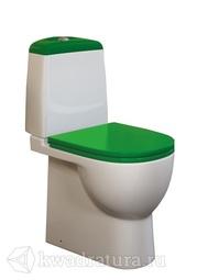 Унитаз-компакт Sanita Luxe Best Color Green SLDM с микролифтом