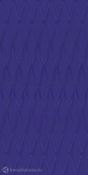 Настенная плитка Ceramique Imperiale Сетка Кобальтовая синий 25*50 см