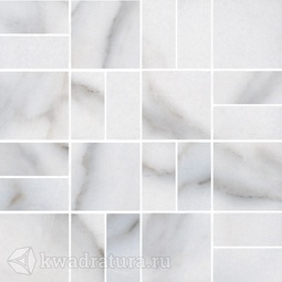 Декор для керамогранита Kerama Marazzi Виндзор мозаичный белый SG16701 30*30 см