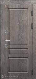 Дверь входная металлическая Центурион С-110 Дуб мадейра/софт серый