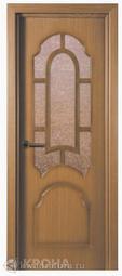 Межкомнатная дверь Крона Соната Дуб СТ