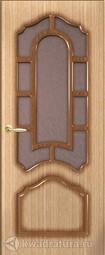 Межкомнатная дверь Румакс Соната Дуб со стеклом