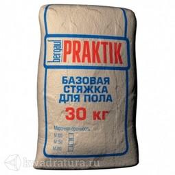 БЕРГАУФ Базовая стяжка для пола Практик М-200 (30кг)