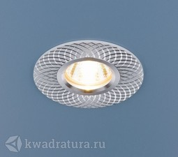 Встраиваемый точечный светильник Elektrostandard 2006 MR16 WH белый