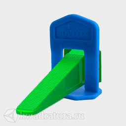 """Система выравнивания плитки """"Ворота"""" 1,0 мм 40 шт/пакет"""