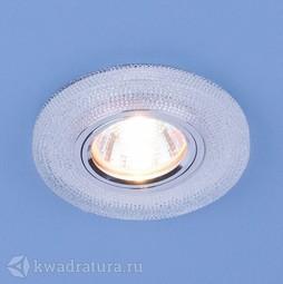 Встраиваемый точечный светильник Elektrostandard 2130 прозрачный
