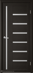 Межкомнатная дверь Фрегат (ALBERO) T-3 Лиственница Темная