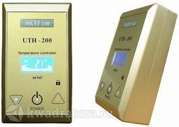 Терморегулятор накладной UTH-200 (4кВт) Золото