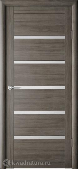 Межкомнатная дверь Фрегат (ALBERO) Вена Серый кедр с/о матовое