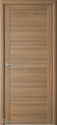 Межкомнатная дверь ALBERO (Фрегат) Вена Кипарис Янтарный