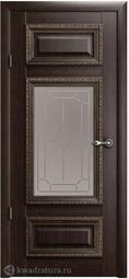 Межкомнатная дверь Фрегат (ALBERO) Версаль 2 Орех СТ (галерея)
