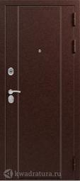 Дверь входная металлическая Эталон X-20 Медь - Кедр