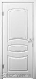 Межкомнатная дверь ДвериХолл Аделия Эмаль, Белый, глухая