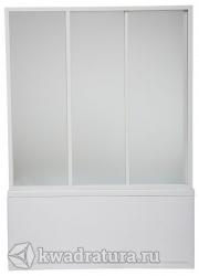 Шторка для ванны Бас Бриз/Верона/Ибица  (стекло Грейп,Шиншила)